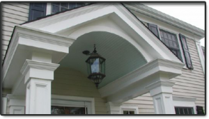 Portico and Porch Design by Good Guys Contracting