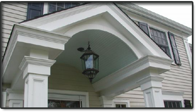 Custom Built Portico's by Good Guys Contracting