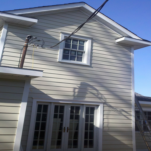Installed Siding Project From Good Guys Contracting