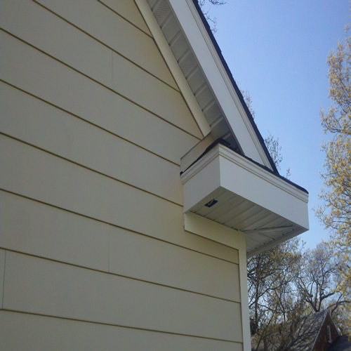 Installed Siding From Good Guys Contracting