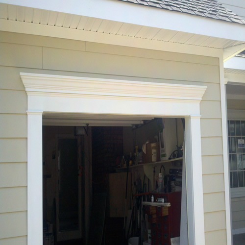 Installed Crown Moldings From Good Guys Contracting