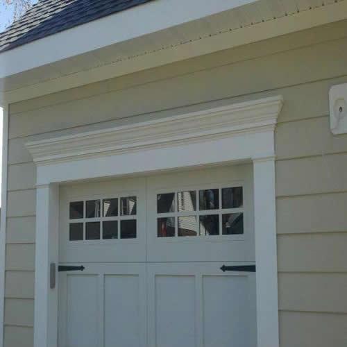 Garage Door Crown Moldings From Good Guys Contracting