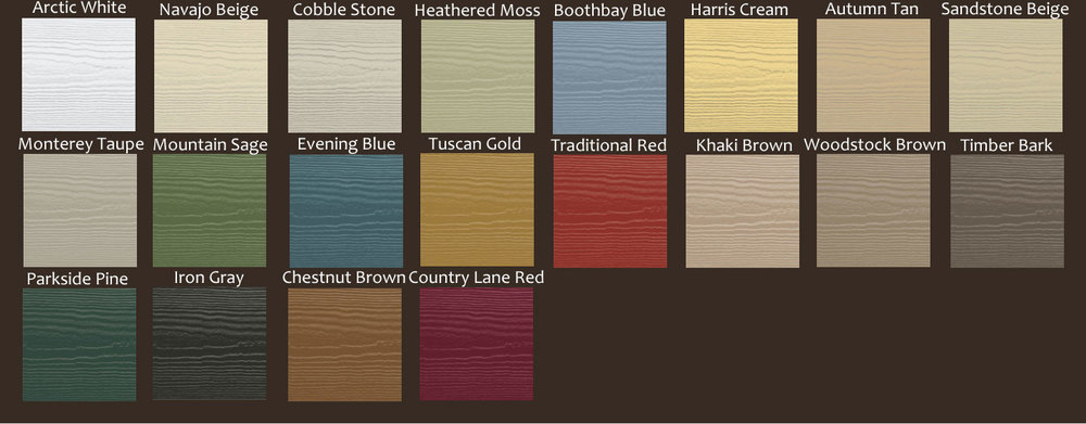 James Hardie Colors From Good Guys Contracting
