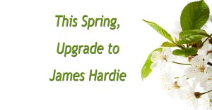 James Hardie in the Spring from Good Guys Contracting