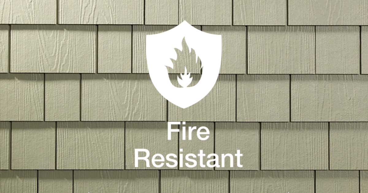 Fire resistant james hardie siding good guys contracting for Fire resistant house siding material hardboard
