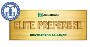 Long Island James Hardie Preferred Good Guys Contracting