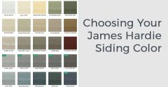 Choosing Your James Hardie Siding Color