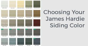 Choosing Your James Hardie Siding Color with Good Guys Contracting