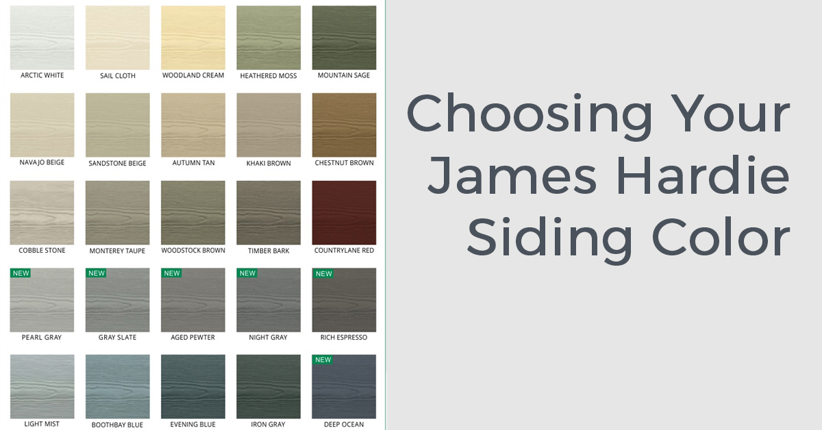 James hardie colors choosing your james hardie siding for Allura siding vs hardie siding