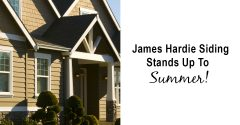 James Hardie Siding Stands Up To Summer