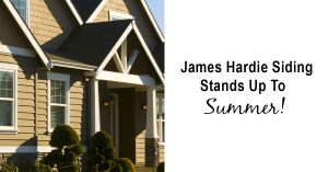 James Hardie Siding Stands Up To Summer from Good Guys Contracting