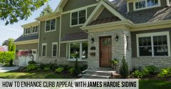 How to Enhance Curb Appeal with James Hardie Siding