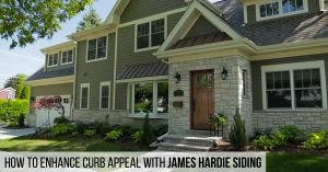 Enhance Curb Appeal with James Hardie Siding from Good Guys Contracting