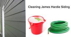 Cleaning James Hardie Siding