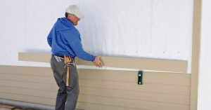 Easy siding installation for your home.