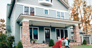 Re-face your home with James Hardie siding.