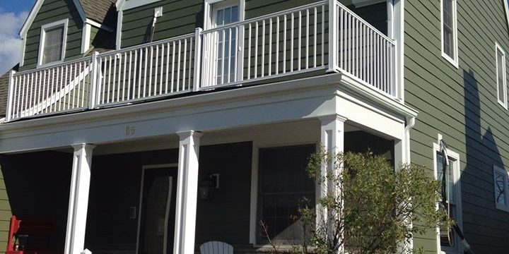 Long Beach, NY: James Hardie Siding Project