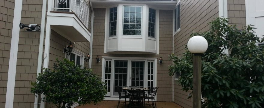 Huntington, NY: Custom Exterior Siding and Deck Project