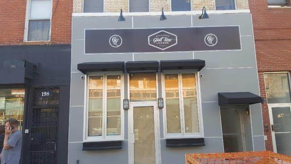Brooklyn, NY: Commercial Restaurant Siding Project