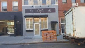 after construction photo of the front of restaurant
