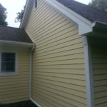 after construction photo of siding